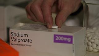 Box of sodium valproate