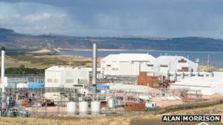 GlaxoSmithKline plant in Montrose
