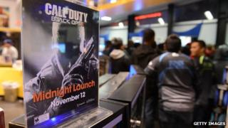 Call of Duty launch