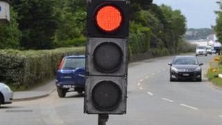 Temporary traffic lights (generic)