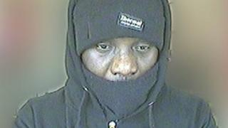 CCTV picture of robbery suspect