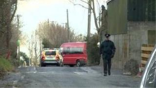 Scene of CAB raid at property in south Armagh
