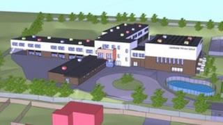 Artist's impression of the new Leominster Primary School