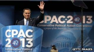Mitt Romney at CPAC conference