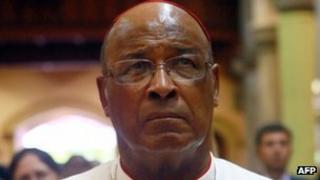 Cardinal Wilfrid Fox Napier. Photo: February 2013