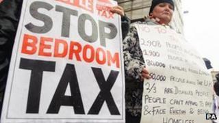 Bedroom tax poster