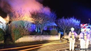 Fire in Lime Tree Avenue