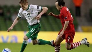 Cymru v Iwerddon yn 2011