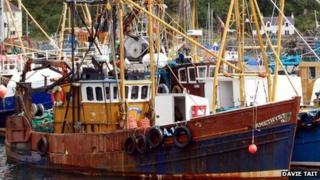 Prawn trawler Amethyst