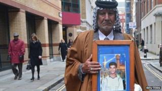 Mizal Karim al-Sweady in central London