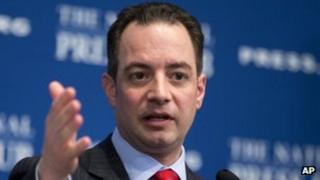 Republican National Committee chairman Reince Priebus in Washington DC 18 March 2013