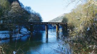 Redbrook bridge