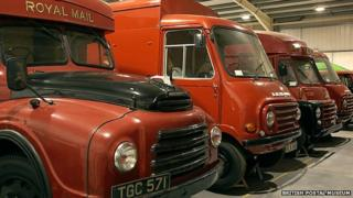 Royal Mail delivery vans