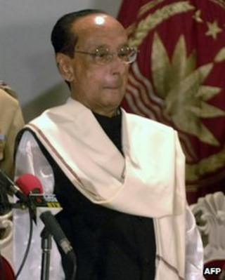 President Zillur Rahman in February 2009