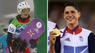 Zoe Gillings-Brier and Peter Kennaugh