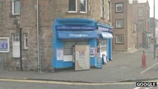 The Paperview Newsagent in North High Street, Musselburgh