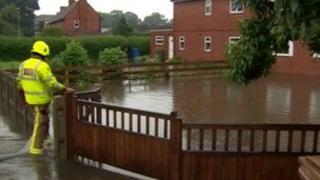 Flooding in Swinefleet