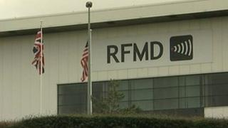 RFMD factory in Newton Aycliffe