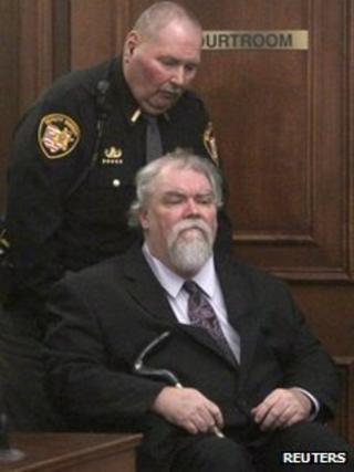 Richard Beasley in court in Akron, Ohio on Wednesday