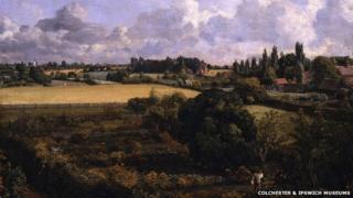 Golding Constable's Kitchen Garden by John Constable