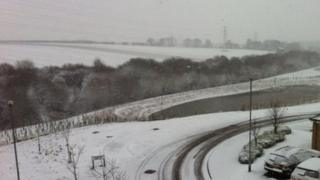 Snow in East Ardsley