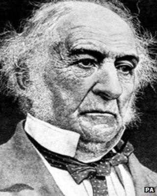 William Gladstone aged 71