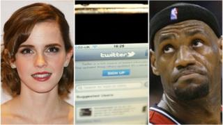 Emma Watson, iPhone Twitter app, LeBron James