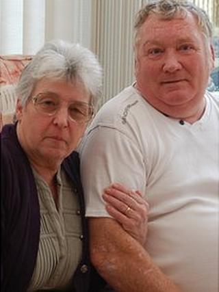 Carol Brothers and husband David