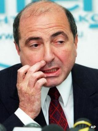 Boris Berezovsky in Moscow, June 1999