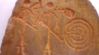 Images of warriors from La Pimienta - an early proto-Celtic culture in Spain