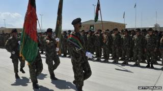 Bagram prison ceremony September 2012