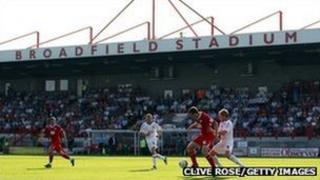 Crawley Town football stadium