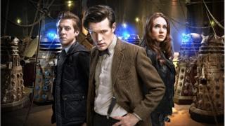 Dr Who actor Matt Smith