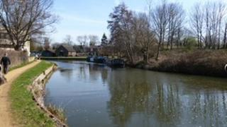 River Wey at Guildford