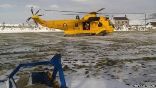 Peel helicopter