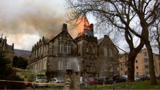 Yorkhill fire