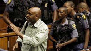Nigerial oil militant Henry Okah