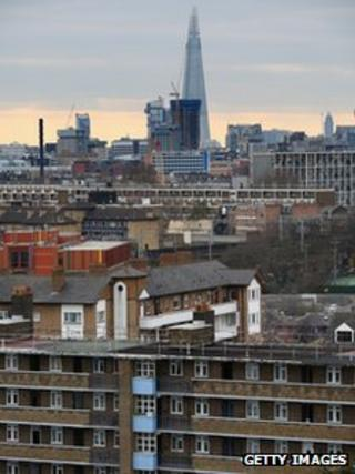 Residential developments in the London borough of Tower Hamlets