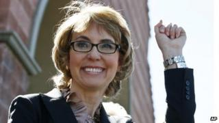Gabrielle Giffords in March 2013