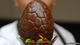 Not for Bunnies Easter egg