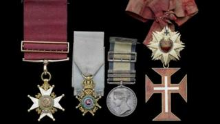 Sir George Magrath's medals