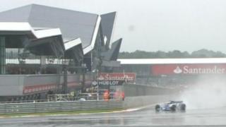 Silverstone in the rain