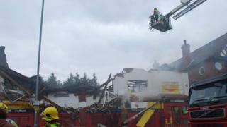 Fire at the Cash Converters store in Kings Heath