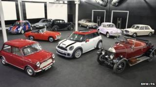 Cars built at Cowley
