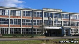 Interfloor factory in Dumfries