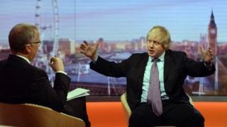 Eddie Mair interviews London mayor Boris Johnson