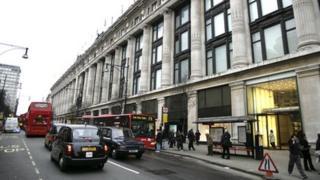 Selfridges in London
