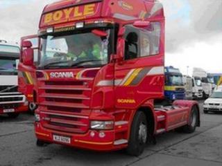 Boyle Transport vehicle