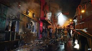 Fire at the Kiss nightclub, 27 Jan 2013