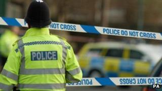 Police cordon (generic)